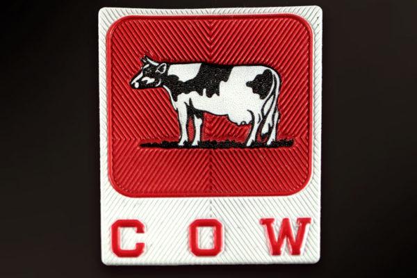 etichetta dome flex Cow