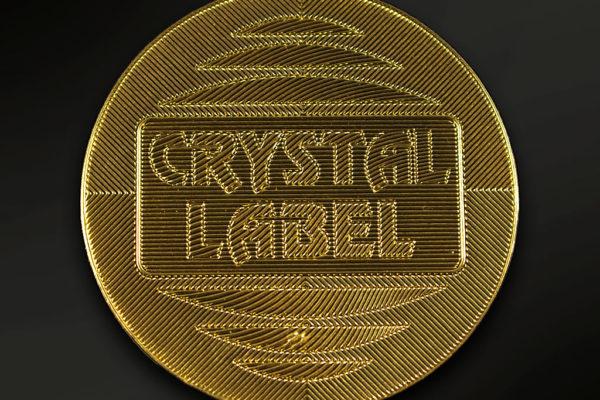 etichetta dome flex Crystal Label