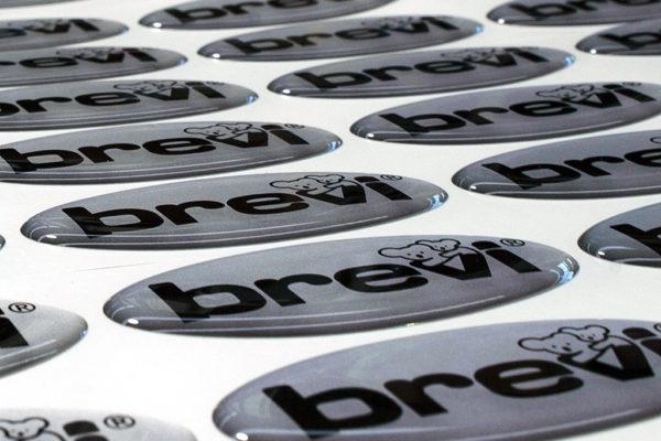 etichetta resinata Brevi