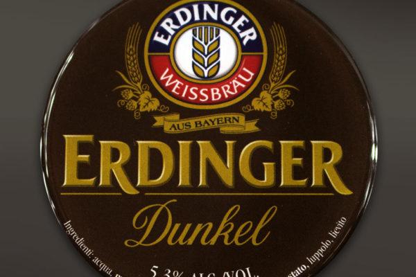 etichetta resinata Erdinger