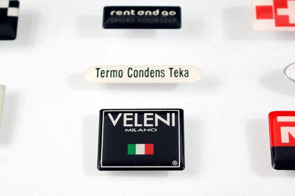 etichetta resinata Veleni