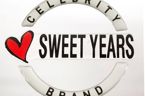 etichetta resinata Sweet Years