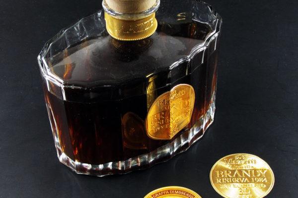 applicazioni speciali etichette Brandy