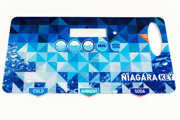 Tastiera policarbonato Niagara key