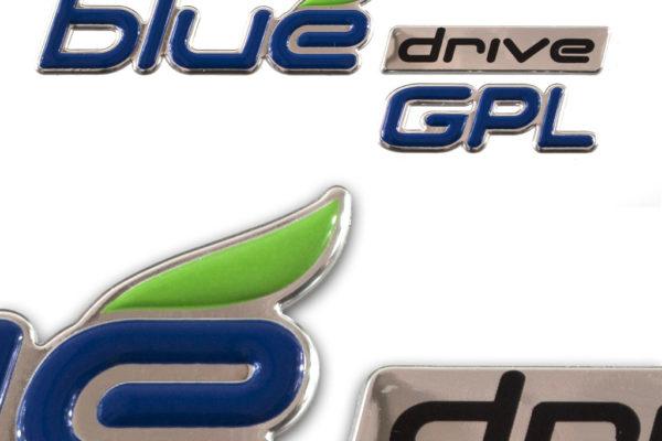 etichette eco Blue Drive GPL