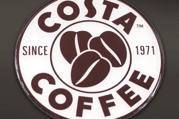etichetta resinata Costa Caffee