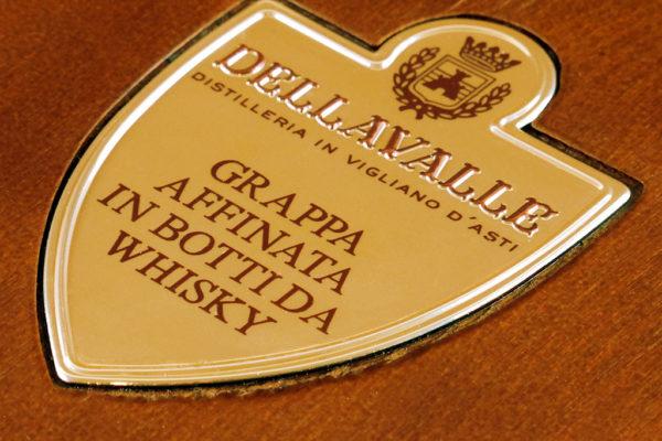 applicazioni speciali etichette distilleria Dellavalle